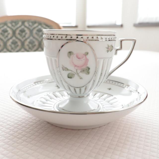 ウィーンの薔薇プラチナ アンピール カップ&ソーサー(単品)