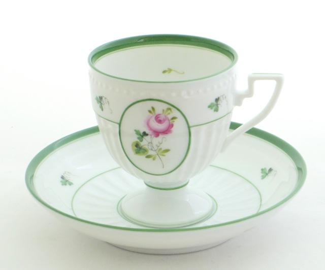 ☆再入荷☆ ヘレンド VRH 04467-0-00 ウィーンの薔薇 アンピール カップ&ソーサー