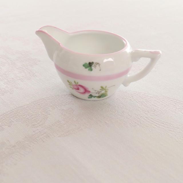 Herend ヘレンド ウィーンの薔薇ピンクシリーズ ミニクリーマー(約60ml)