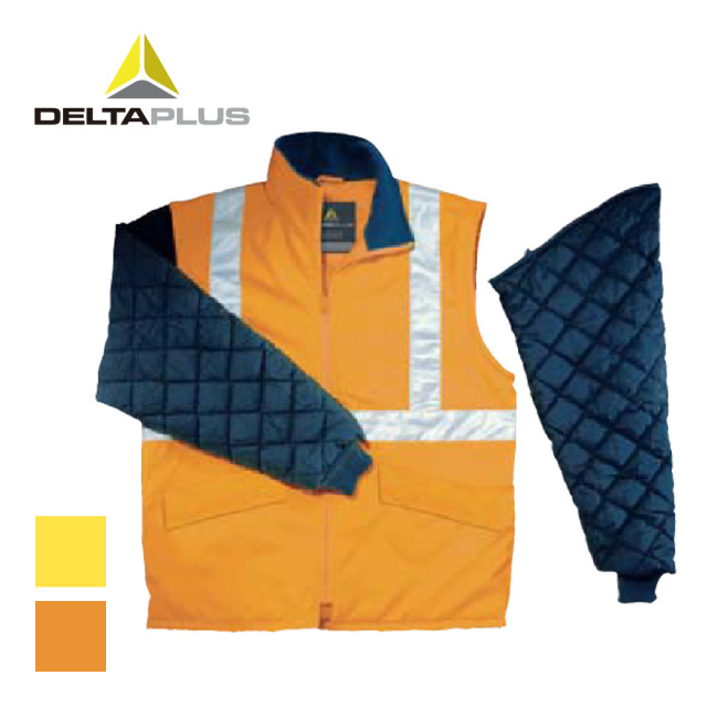 DELTAPLUS FREEWAY HV Jacket with removable sleeves / デルタプラス フリーウェイHV ジャケット 防寒ジャケット