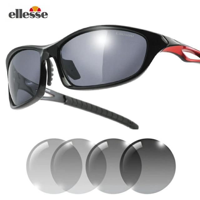 エレッセ スポーツサングラス メンズ 調光偏光サングラス