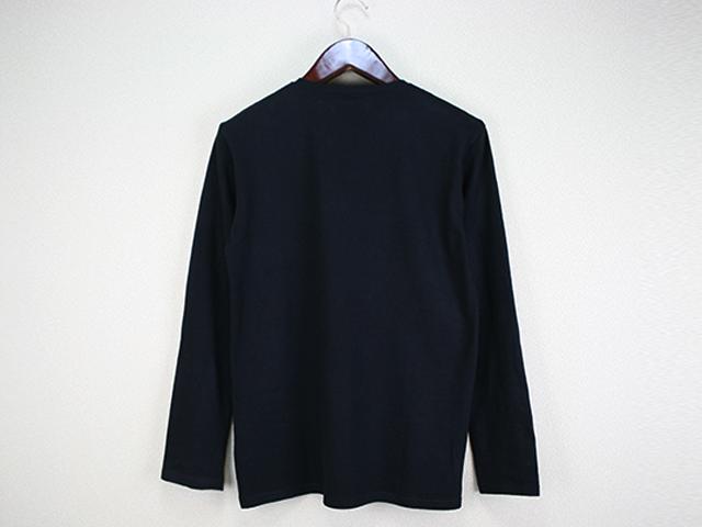 グラフィックロングTシャツ(ブラック)