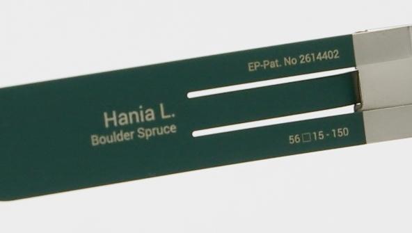 ic ! berlin  (アイシーベルリン) Hania L. カラーBoulder Spruce-Warm Grey I-132T 品番画像