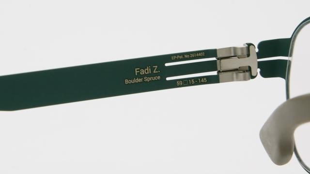 ic ! berlin  (アイシーベルリン) Fadi Z. カラーBoulder Spruce-Warm Grey I-134T 品番画像