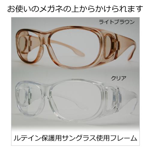 ルテイン保護機能付サングラス・ハイスペックモデル(オーバーグラス) メイン画像