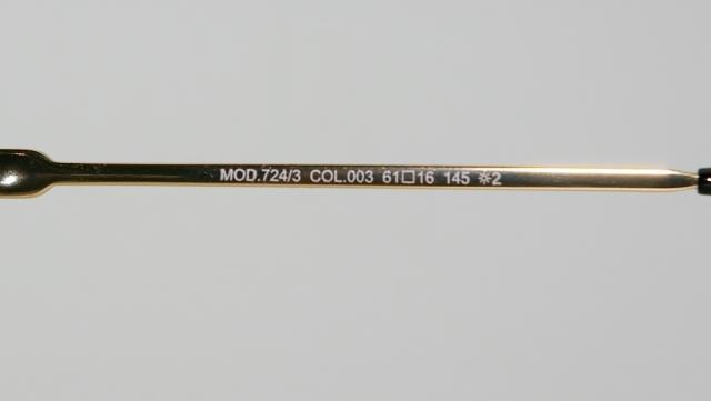CAZAL(カザール) 724/3 col.003 サングラス P-230T 品番画像