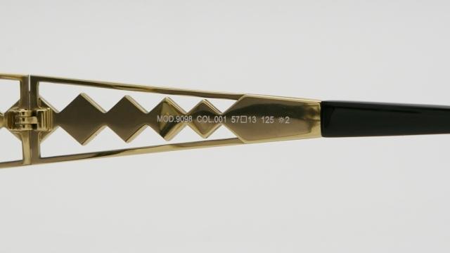 CAZAL(カザール) 9097 col.002 サングラス P-258T 品番画像