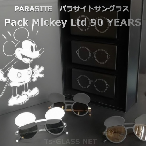PARASITE(パラサイト)サングラス ミッキーマウス生誕90周年コラボモデル メイン画像