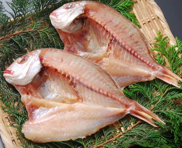 【受注生産】真鯛の干物(開き)単位販売