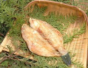 かわはぎ(ウマヅラハギ)醤油干し