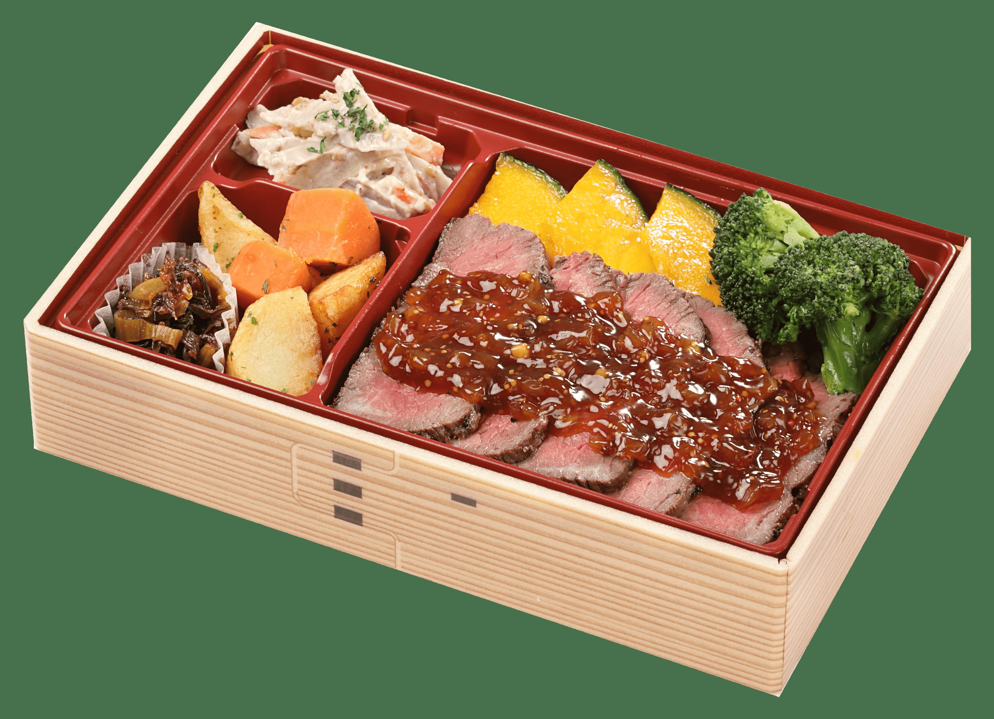 北海道産星空の黒牛 ステーキ重