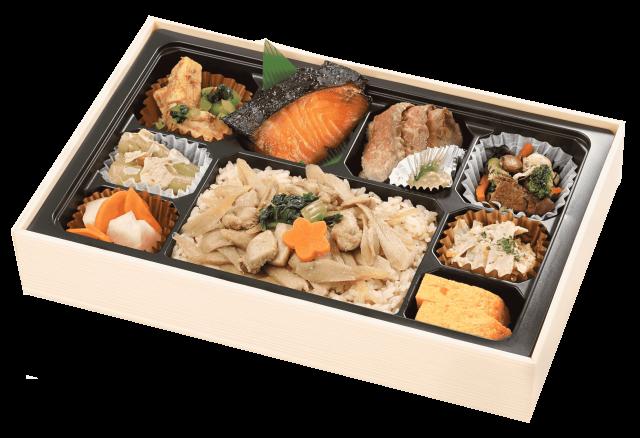 【冬季限定】季節の炊込みご飯の贅沢御膳