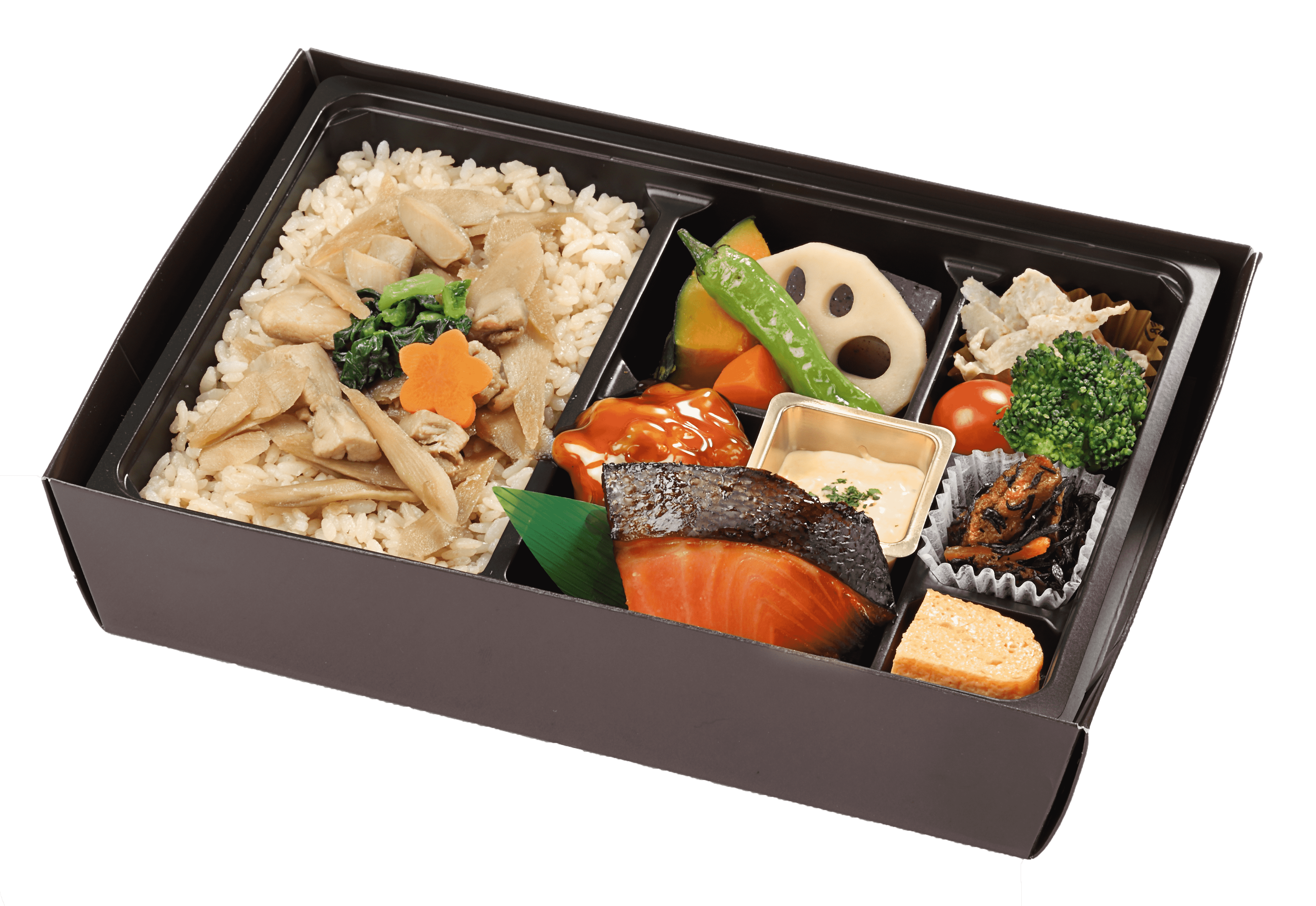 【冬季限定】季節の炊込みご飯の幕の内弁当