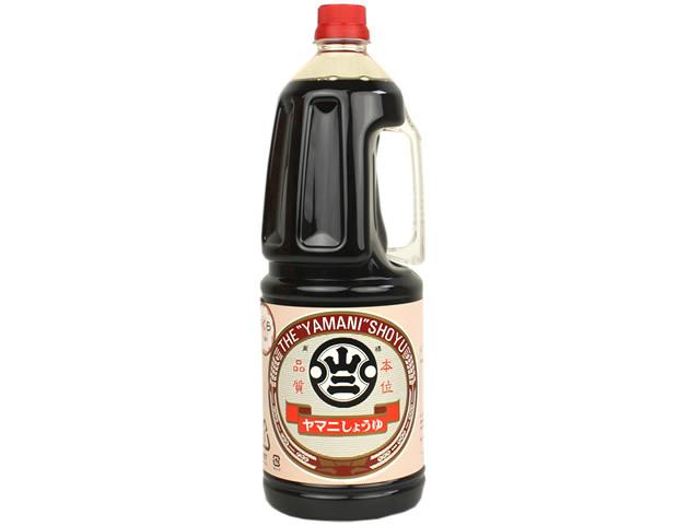 山二醤油さくら印 1.8L