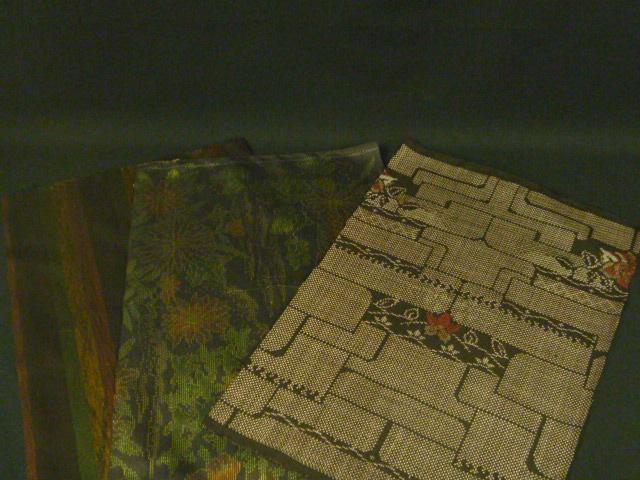 大島紬のハギレセット・大