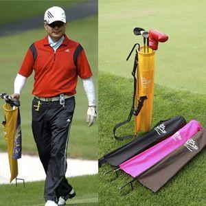 ザ・セルフキャディー ゴルフクラブケース 2大特典付  簡易型キャディバッグ
