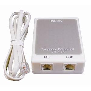 テレホンピックアップユニットMT-173/Tモード付き補聴器専用