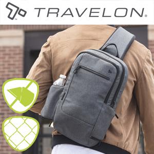 トラベロン社セーフティアーバンスリングバッグ 43103/海外旅行対応盗難防止バッグ