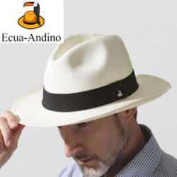 エクアアンディーノ社/エクアドル製パナマハット