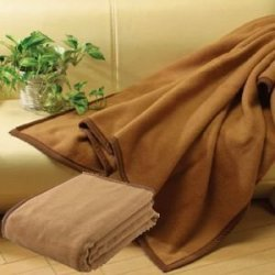 日本製高級キャメル毛布 シングルロングサイズ150×210cm