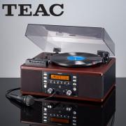 TEAC ティアック CDレコーダー搭載マルチレコードプレーヤー カセットデッキ カラオケ機能付 LP-R560K