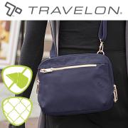 トラベロン社セーフティテーラードショルダーバッグ 43199 海外旅行対応盗難防止バッグ