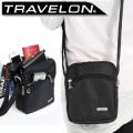 トラべロン社/TRAVELONセキュリティミニショルダーバッグ/男女兼用/海外旅行対応盗難防止トラベルバッグ