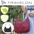 トラベロン社セーフティシグネチャー ホボバッグ 2WAYショルダーバッグ 43328 海外旅行対応盗難防止バッグ