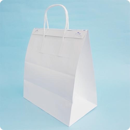 紙製保冷袋外付けハンドルタイプ