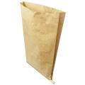 三層クラフト紙袋(片ミシン)
