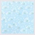 不織布製風呂敷 アラカルト500風鈴ブルー