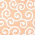 不織布製風呂敷アラカルト唐草橙