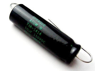Sprague ATOM 50μF/150VDC