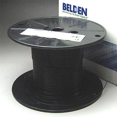 Belden #8503 AWG#22 黒