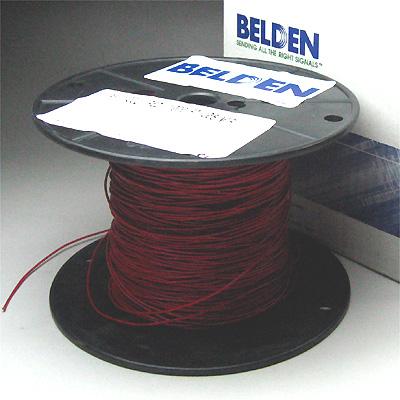 Belden #8503 AWG#22 赤