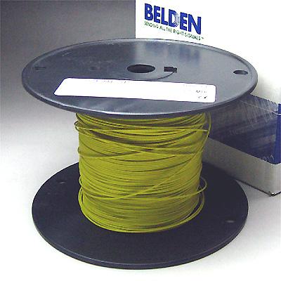 Belden #8503 AWG#22 黄