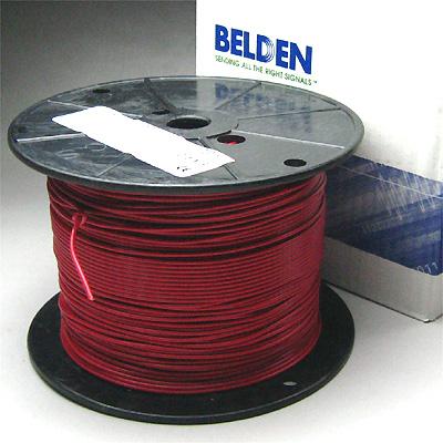 Belden #8522 AWG#18 赤