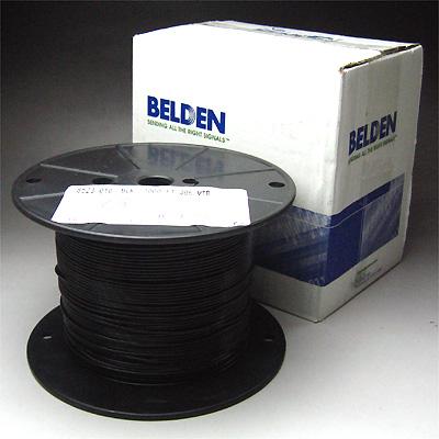 Belden #8523 AWG#20 黒