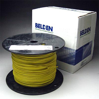 Belden #8523 AWG#20 黄