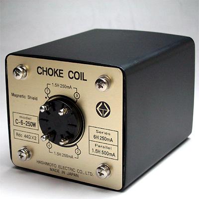 橋本電気 チョークコイル C-6-250W