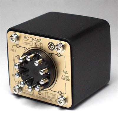 橋本電気 MCカートリッジ用インプットトランス HM-3