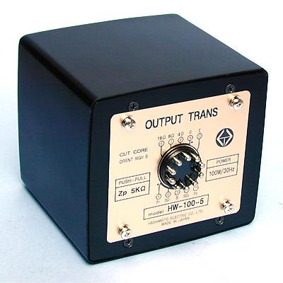 橋本電気 プッシュプル出力トランス HW-100-5