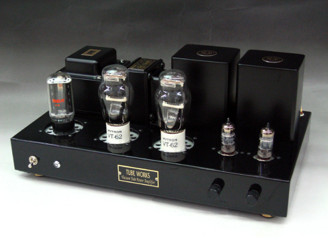 VT62シングルステレオアンプ完成品