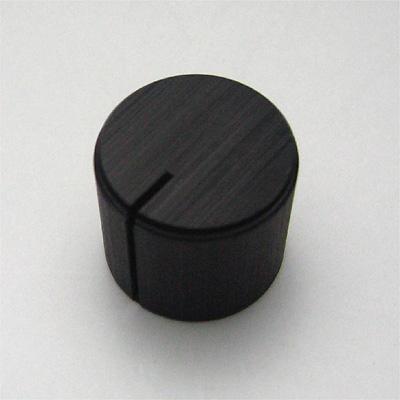 アルミインチノブ 16mm ブラック