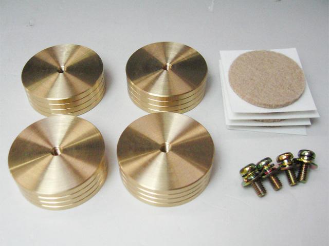 真鍮削り出しインシュレータセット (35X12)