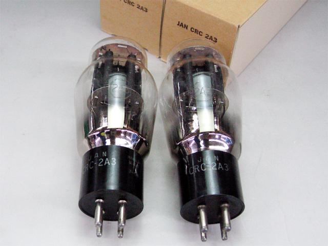 RCA JAN 2A3 (MP) カーボンプレート