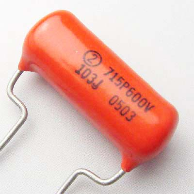Sprague OrangeDrop 0.01μF/600VDC