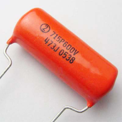 Sprague OrangeDrop 0.047μF/600VDC