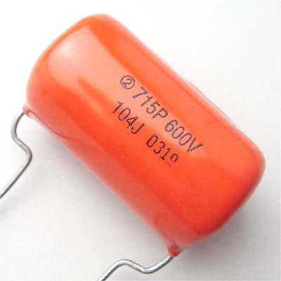 Sprague OrangeDrop 0.1μF/600VDC
