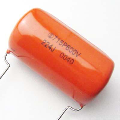 Sprague OrangeDrop 0.22μF/600VDC